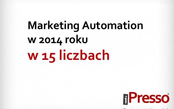 Prezentacja – Marketing Automation 2014 w 15 liczbach