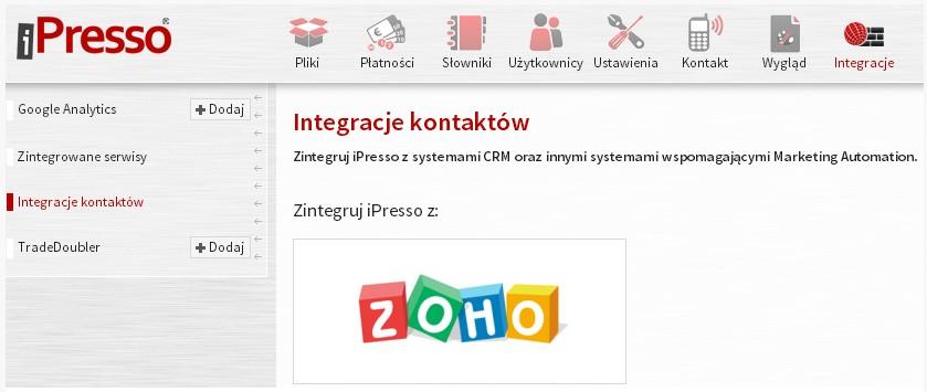 integracja z zoho5